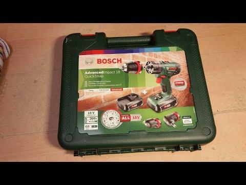Produkttest Bosch Advanced Impact 18 QuickSnap