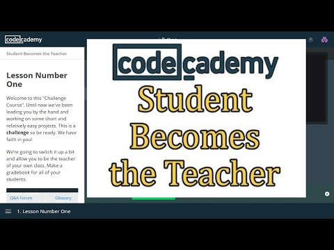 Codecademy Python Answers: Students Becomes the Teacher / Learn