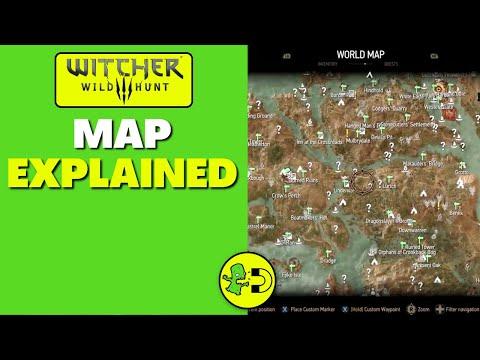 Witcher 3 World Map Tutorial