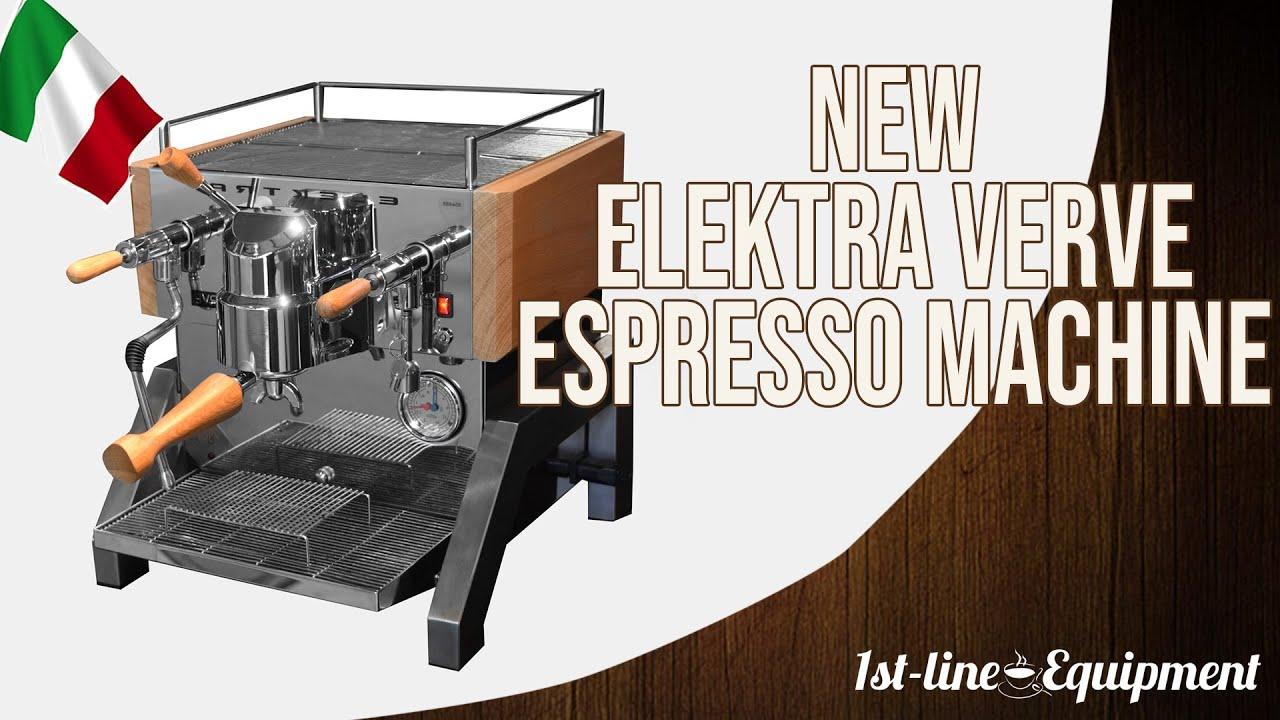 Java Jim In Italy New Elektra Verve Espresso Machine