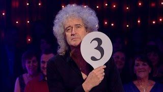 Queen Medley + Anita Dobson Samba - Brian May Effigy - Strictly Wembley 19 Nov 2011