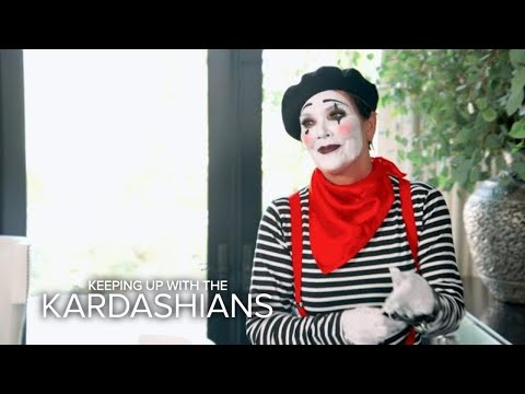 KUWTK | Guess Who's Messing With Khloé Dressed as a Mime | E!