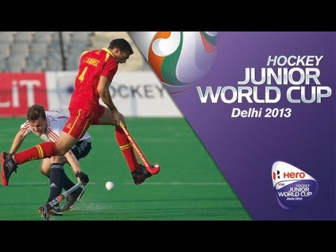 England vs Spain - Men's Hero Hockey Junior World Cup India Playoffs [14/12/2013]