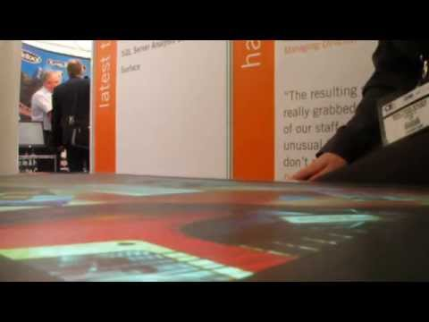 Microsoft Surface at Offshore Europe 2009, Aberdeen