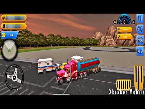 Oil Tanker Transporter #2 - New Truck Unlocked Offroad Crazy Oilt Tanker - Best Android Gameplay