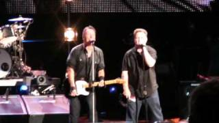 "Bruce Springsteen  ""American Land"" Mansfield 8-23-09"