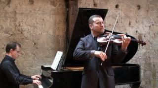 Danse Espagnole de Falla - David Galoustov violon - Julien Gernay piano