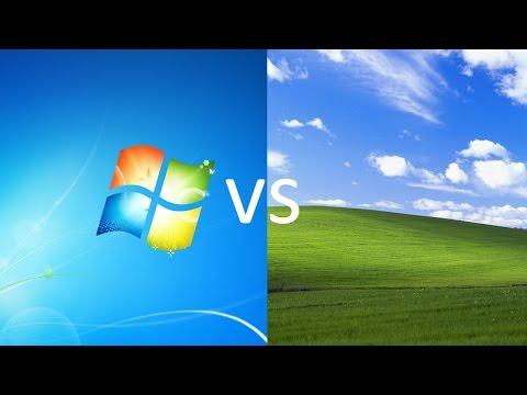 Comparing Windows 7 to Windows XP!