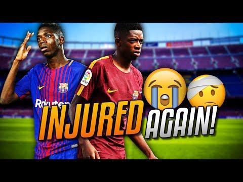 ►DEMBELE MADE OF GLASS?! Dembele Injured Again!!! Which Matches will he miss?! For how Long? | #FTW