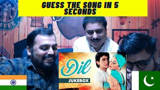 Pakistani Reacts on | Guess The old song in 5 seconds challenge old hindi Bollywood song full hd