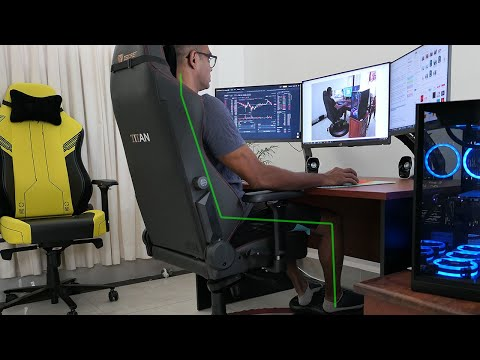 How To Sit in a Gaming Chair: Healthy Neutral Positions