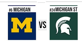 Week 8 2018 #6 Michigan vs #24 Michigan State Full Game Highlights
