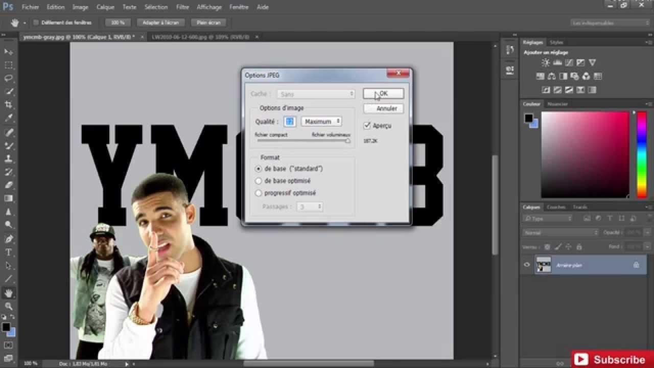 Tuto 02 Comment Changer L Arriere Plan D Une Image Avec Adobe