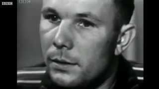 Yuri Gagarin on BBC TV, July 11 1961(Интервью с майором Юрием Гагариным. Майор Юрий Гагарин ответил на вопросы заданные Ричардом Димблби (Richard..., 2012-10-17T13:34:34.000Z)