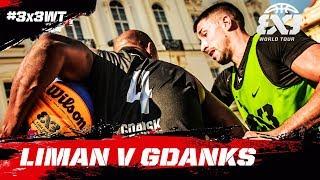 Liman v Gdanks | Full Game | Quarter-Finals | FIBA 3x3 World Tour 2018 - Prague Masters 2018