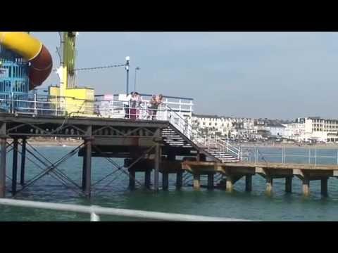 Pier Fishing.Sandown Isle Of Wight I.O.W. Sea Fishing.