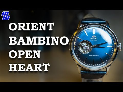orient bambino open heart review