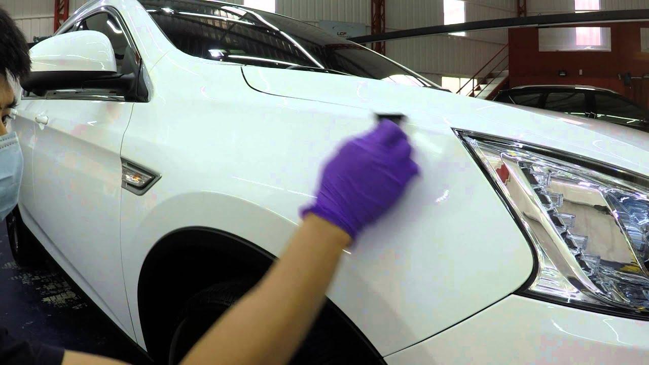 LCF車體鍍膜 20150816 Luxgen U6 鏡面美容 SF堅毅鍍膜 SF永恆鍍膜 塑料鍍膜 Clareed glass coating 全車玻璃鍍膜 - YouTube