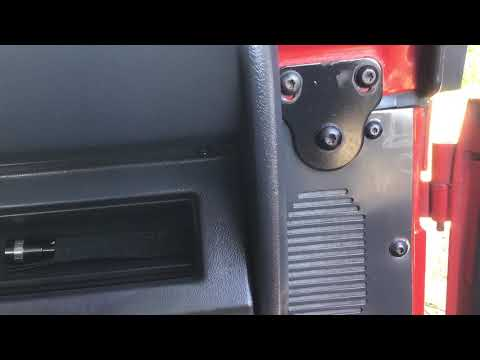 Speaker Replacement 95 Jeep YJ