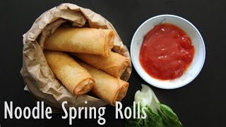 Spring Rolls | How to make Veg Spring Rolls- Easy Indian Veg Appetizer & Starter Recipes by Shilpi