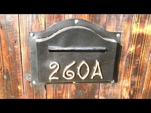 Making a mailbox