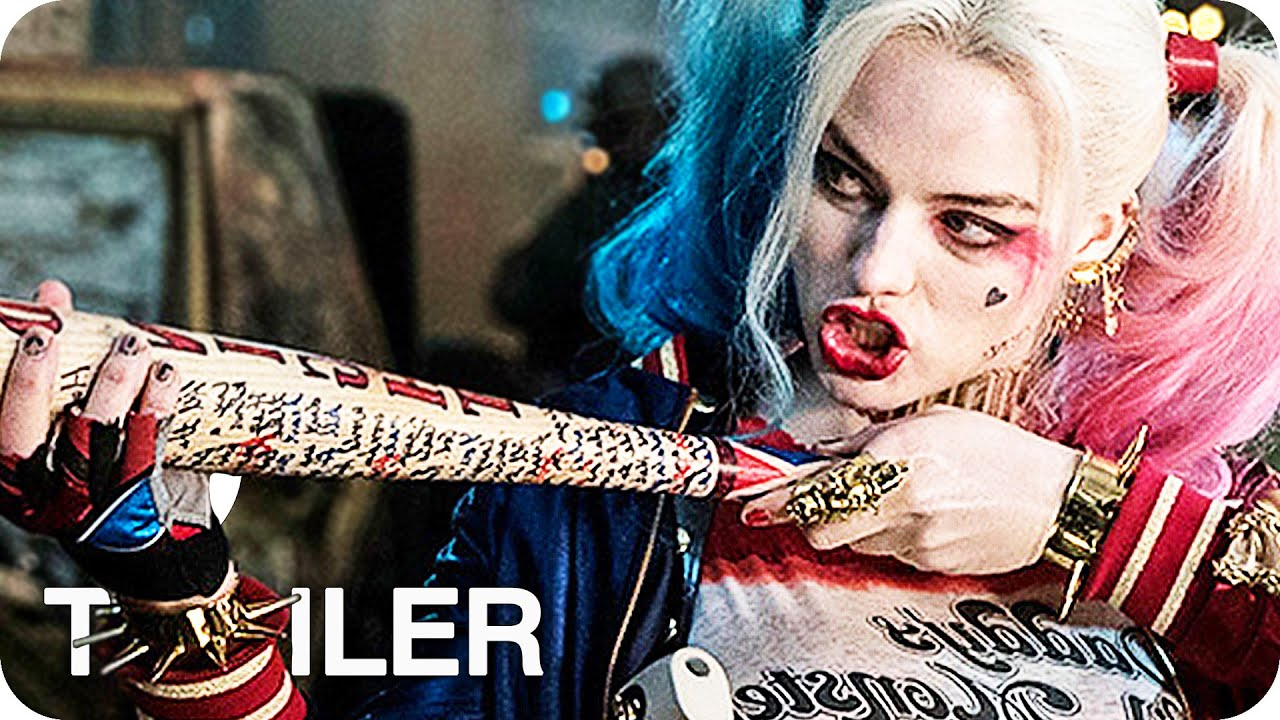 suicide squad trailer 4 german deutsch (2016) joker & harley quinn