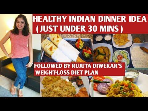 Rujuta Diwekar inspired indian dinner recipes for weight