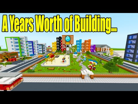 All Of My 2019 City Builds! One Year Of Building...