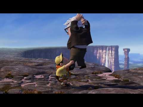 Angel Falls Venezuela Wallpaper Pixar Up Movie Clip Tepui Landing Scene Hq Youtube