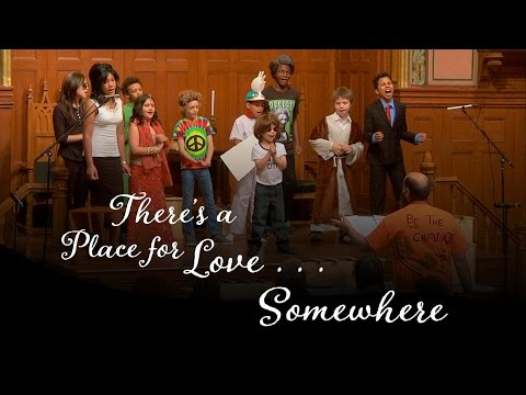 """There's a Place for Love . . . Somewhere"" :: Jun 5 @middlechurch"