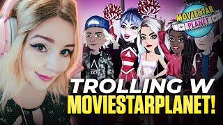 TROLLING W MovieStarPlanet! 😂🤣 GROŻONO MI! 😱😝