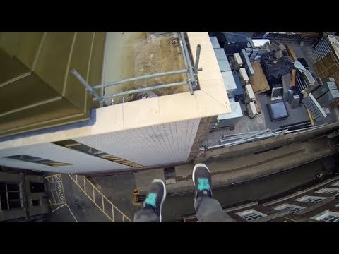 Cambridge Parkour POV - Rooftop Run
