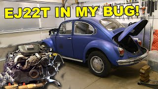 Turbo EJ22 in my BUG!  Install Part 01