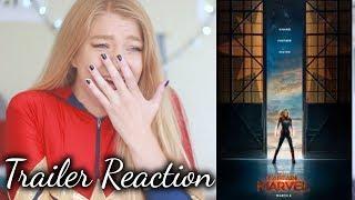 CAPTAIN MARVEL (2019) - Official Trailer Reaction!