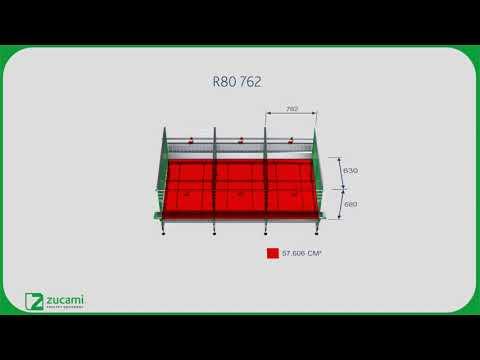 Клетка для родительского стада несушек - модель R