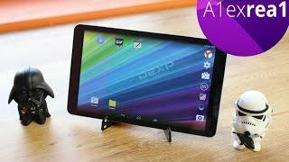 DEXP Ursus NS210 Обзор большого планшета с 3G.