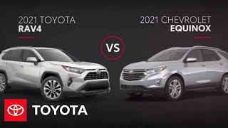 homepage tile video photo for 2021 Toyota RAV4 vs Chevrolet Equinox | Toyota
