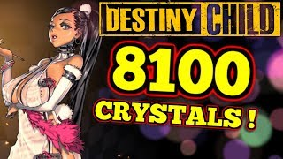 SO MANY CRYSTALS! : Destiny Child