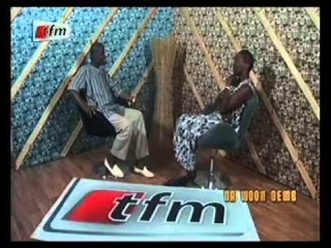 Na woon demb avec Elisabeth ADAMS (lionne handball Années 1980, Dial Diop, US Gorée)
