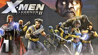X-Men Legends II (PSP) walkthrough part 1