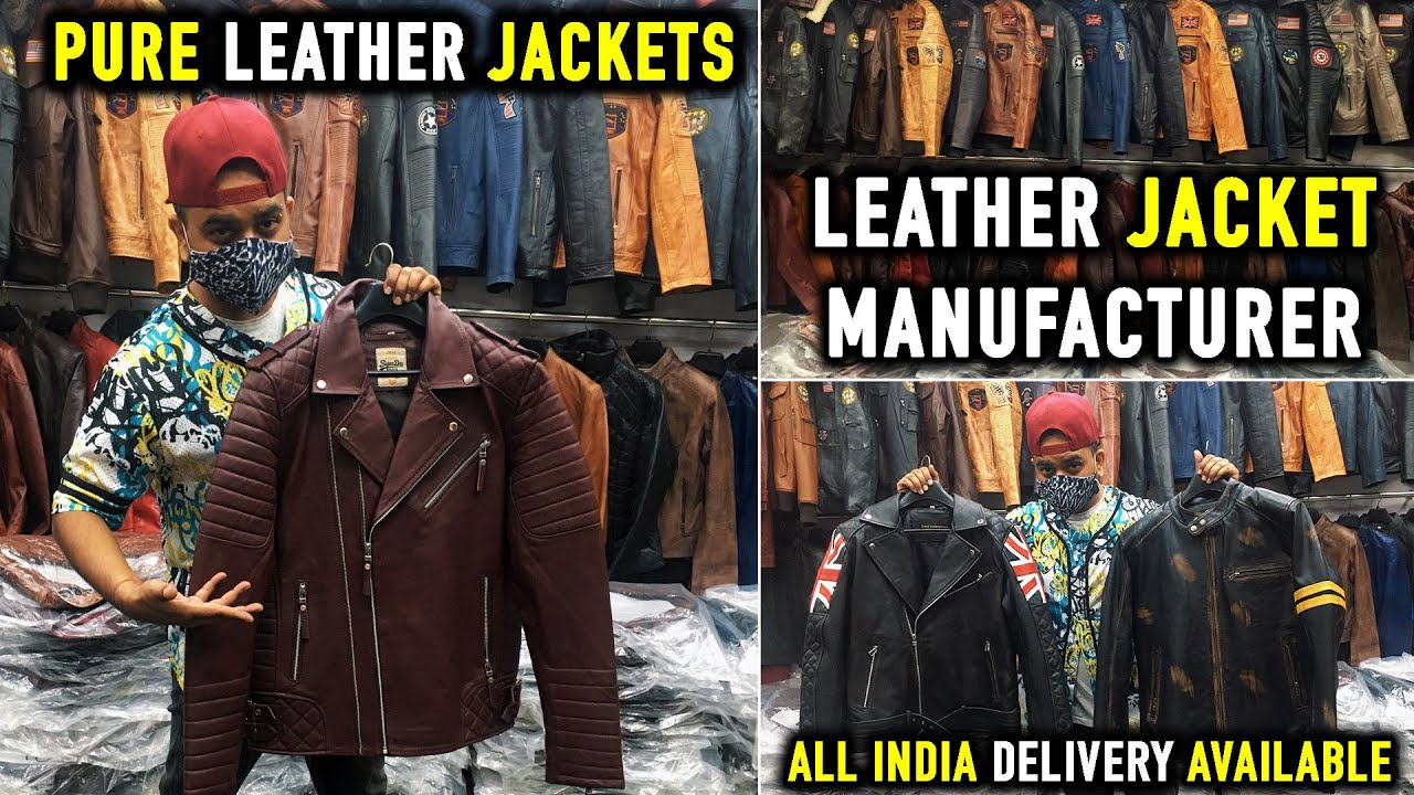 Pure Leather Jacket At Cheapest Price || Winter Leather Jacket Manufacturer || Latest Jackets Design