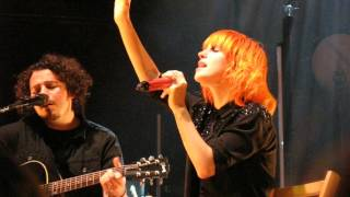 7/13 Paramore - Life Changing + Franklin @ The Meyerhoff, Baltimore, MD 5/11/15