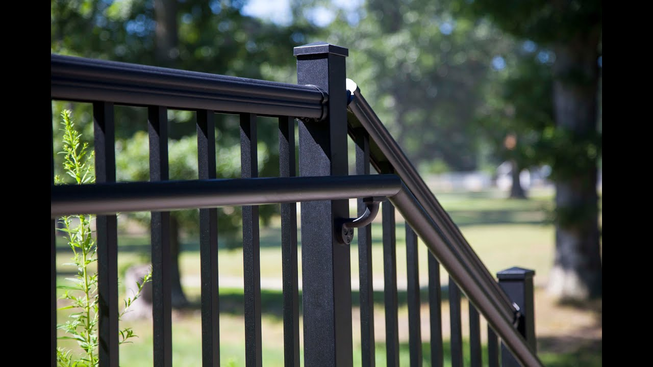 How to Install RDI Avalon Aluminum Railing- Stair Rail