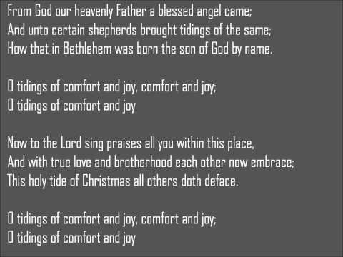 Boyz II Men - God Rest Ye Merry Gentlemen Lyrics