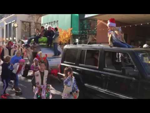 Adventure Guides Santa Cruz Holiday Parade 2016