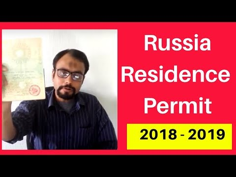 Student in Russia got temporary residence permit