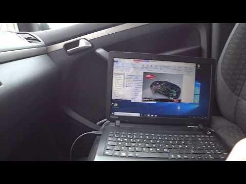 Регенирация или прочистка сажевого фильтра DPF на VW Touran с помощью Delphi