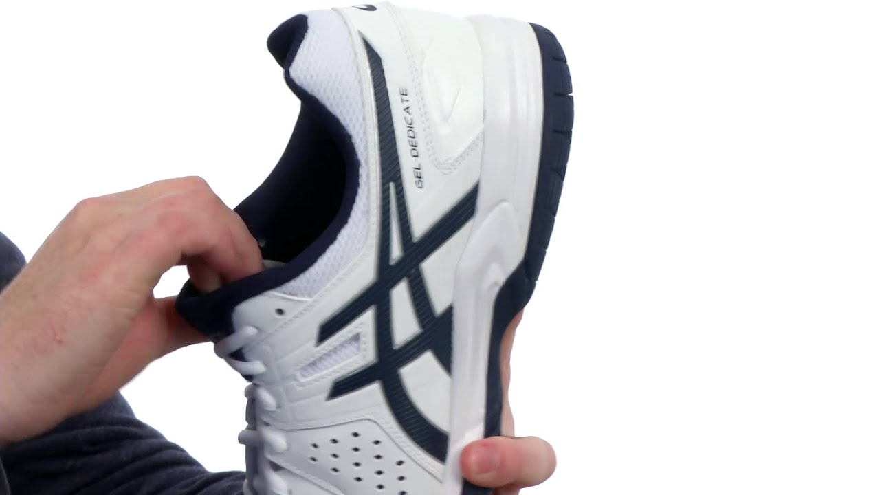 asics gel dedicate 4 tennis shoe