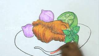 How to Draw Vegetables