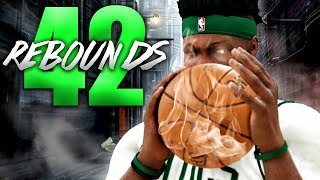 BREAKING WILT'S PLAYOFF REBOUND RECORD! NBA 2K20 My Career Gameplay Best Paint Beast Build